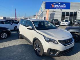 Peugeot 5008 Blanc, garage BHD AUTO à Biganos