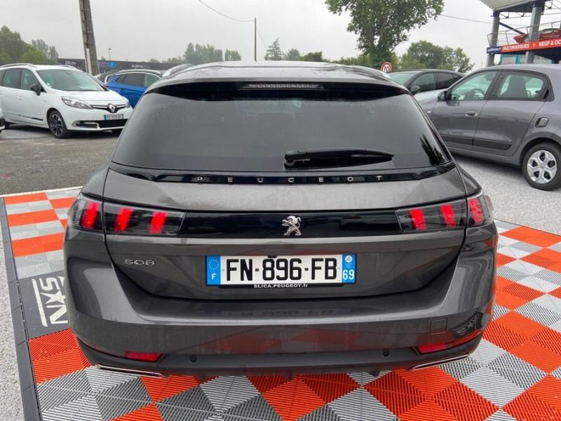 Peugeot 508 SW BlueHDi 130 EAT8 ALLURE Toit Hayon Hifi Drive Assist Gris occasion à Carcassonne - photo n°6