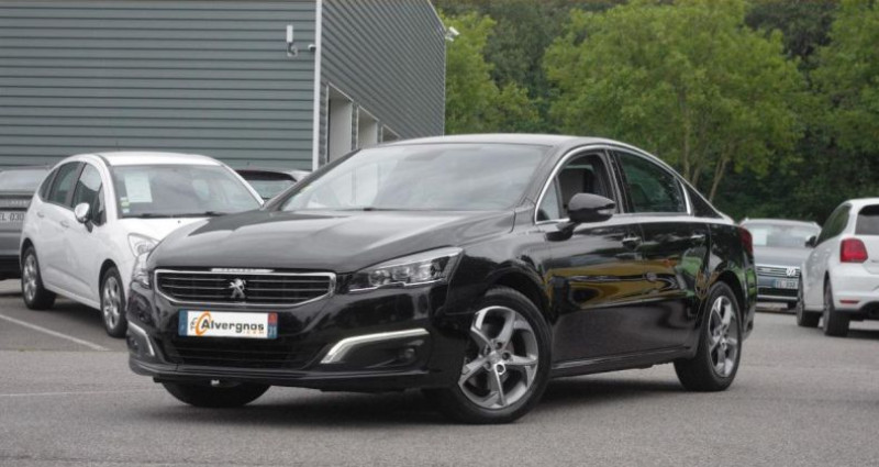 Peugeot 508 (2) 2.0 BLUEHDI 150 FELINE Noir occasion à Chambourcy