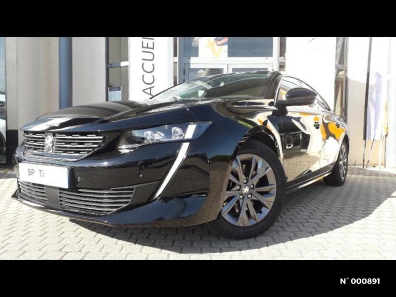 Peugeot 508 BlueHDi 160ch S&S Allure Business EAT8 Noir occasion à Écuelles - photo n°3
