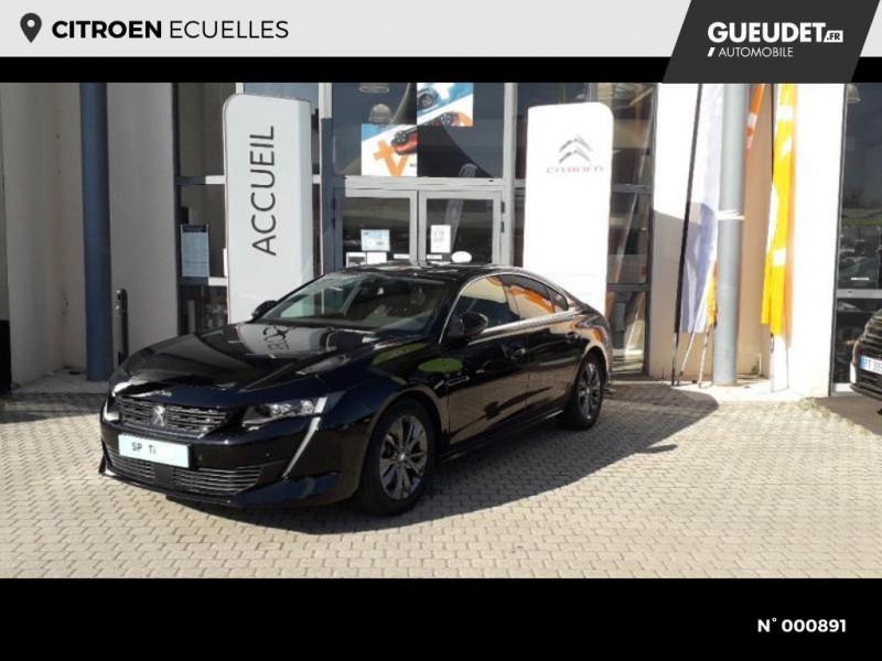 Peugeot 508 BlueHDi 160ch S&S Allure Business EAT8 Noir occasion à Écuelles