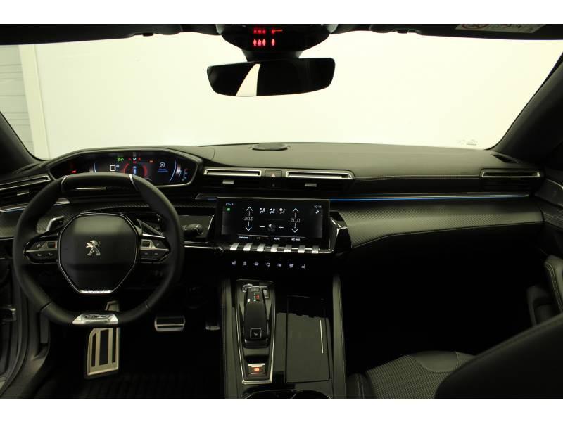 Peugeot 508 BlueHDi 180 ch S&S EAT8 GT Line Gris occasion à Saint-Pierre-du-Mont - photo n°8