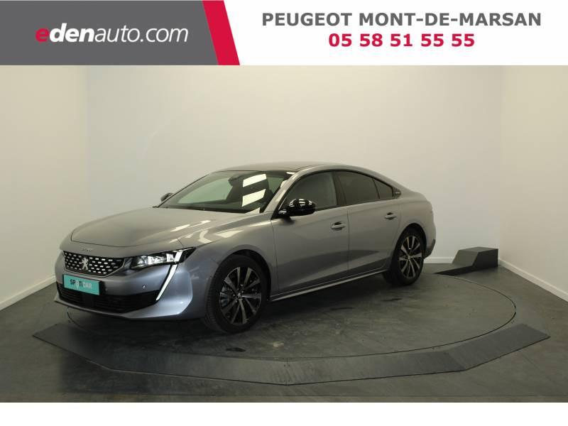 Peugeot 508 BlueHDi 180 ch S&S EAT8 GT Line Gris occasion à Saint-Pierre-du-Mont