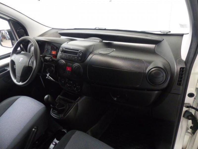 Peugeot Bipper 117 L1 1.3 HDI 75 FAP PACK CLIM Blanc occasion à MORLAIX - photo n°5