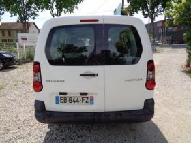 Peugeot Partner 121 L2 1.6 HDI 90 CABINE APPROFONDIE CONFORT Blanc occasion à Aucamville - photo n°7