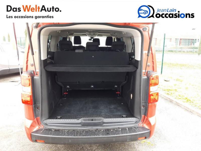 Peugeot Traveller Traveller Long BlueHDi 120ch S&S BVM6 Business 4p Orange occasion à Chatuzange-le-Goubet - photo n°10