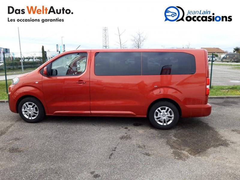 Peugeot Traveller Traveller Long BlueHDi 120ch S&S BVM6 Business 4p Orange occasion à Chatuzange-le-Goubet - photo n°8