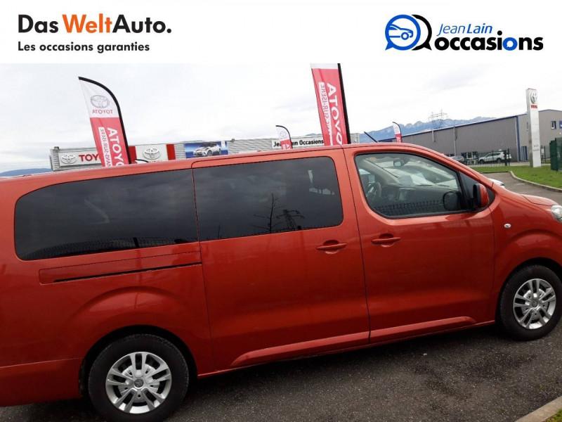 Peugeot Traveller Traveller Long BlueHDi 120ch S&S BVM6 Business 4p Orange occasion à Chatuzange-le-Goubet - photo n°4