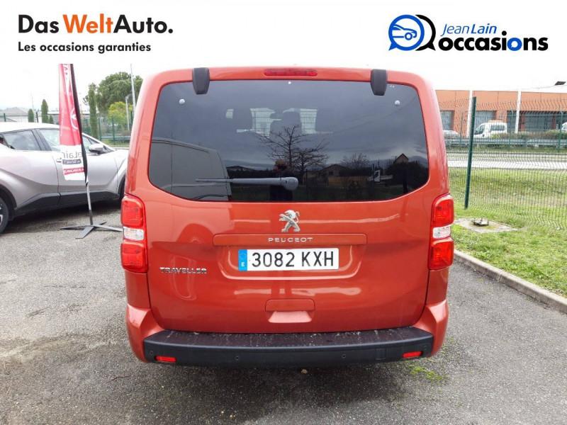 Peugeot Traveller Traveller Long BlueHDi 120ch S&S BVM6 Business 4p Orange occasion à Chatuzange-le-Goubet - photo n°6