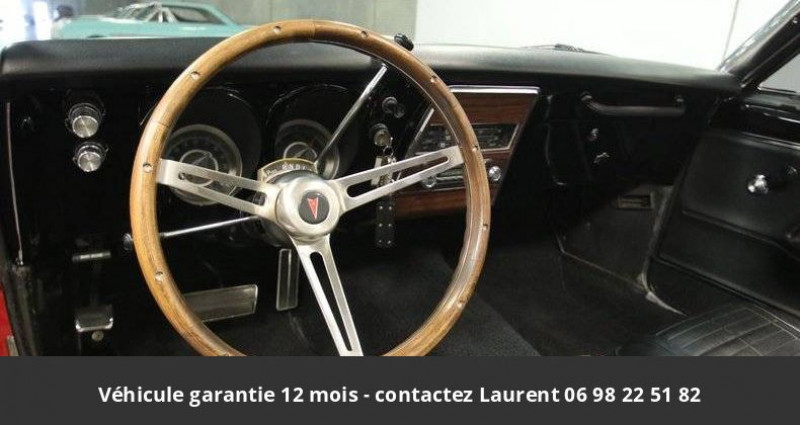 Pontiac Firebird 326 v8 1967 prix tout compris hors homologation 4500 ? Rouge occasion à PONTAULT COMBAULT - photo n°6