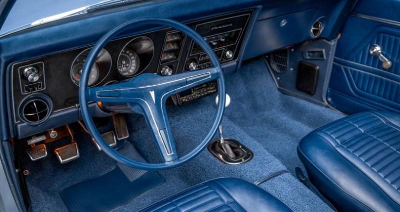 Pontiac Firebird Cabriolet 1969 - V8 350Ci - Boite Manuelle Bleu occasion à Villennes Sur Seine - photo n°4