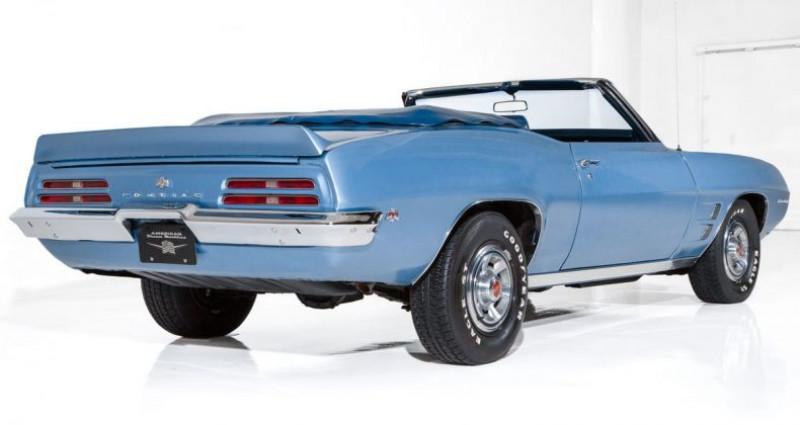 Pontiac Firebird Cabriolet 1969 - V8 350Ci - Boite Manuelle Bleu occasion à Villennes Sur Seine - photo n°3
