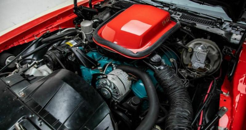 Pontiac Firebird Trans AM 1977 - V8 400Ci - Boite Auto Rouge occasion à Villennes Sur Seine - photo n°4