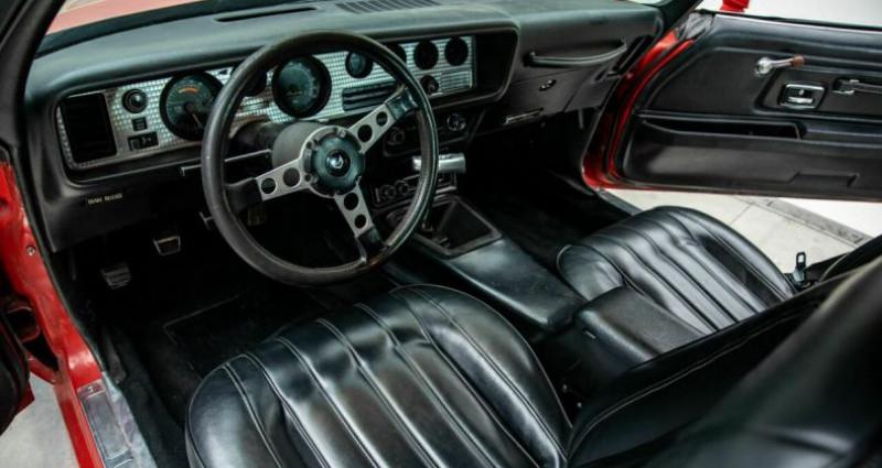 Pontiac Firebird Trans AM 1977 - V8 400Ci - Boite Auto Rouge occasion à Villennes Sur Seine - photo n°3