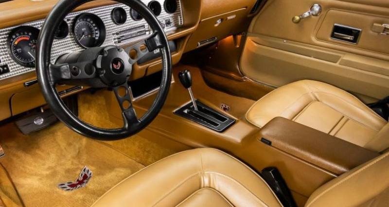 Pontiac Firebird Trans Am Super Duty - V8 455Ci - Boite Auto Blanc occasion à Villennes Sur Seine - photo n°3