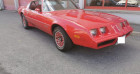 Pontiac Firebird V8 301 5.0l Rouge à PONTAULT COMBAULT 77