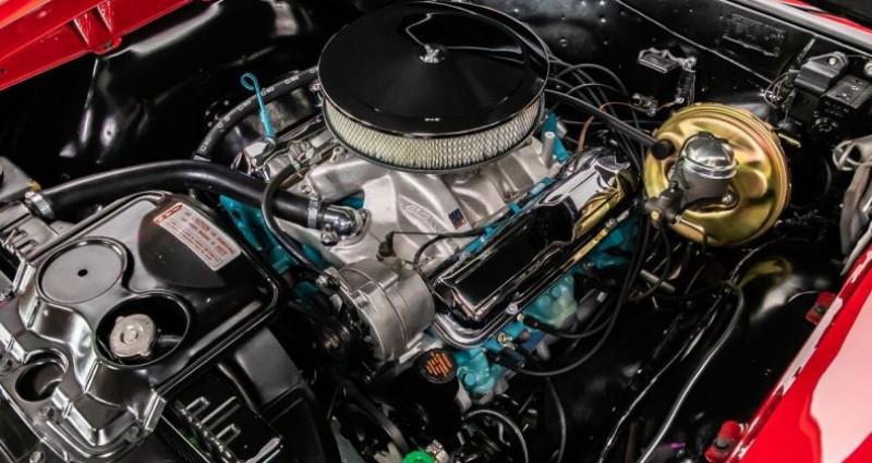 Pontiac GTO 1965 - V8 389Ci - Boite Manuelle Rouge occasion à Villennes Sur Seine - photo n°4