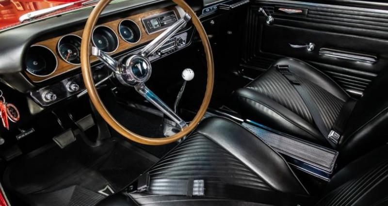 Pontiac GTO 1965 - V8 389Ci - Boite Manuelle Rouge occasion à Villennes Sur Seine - photo n°3