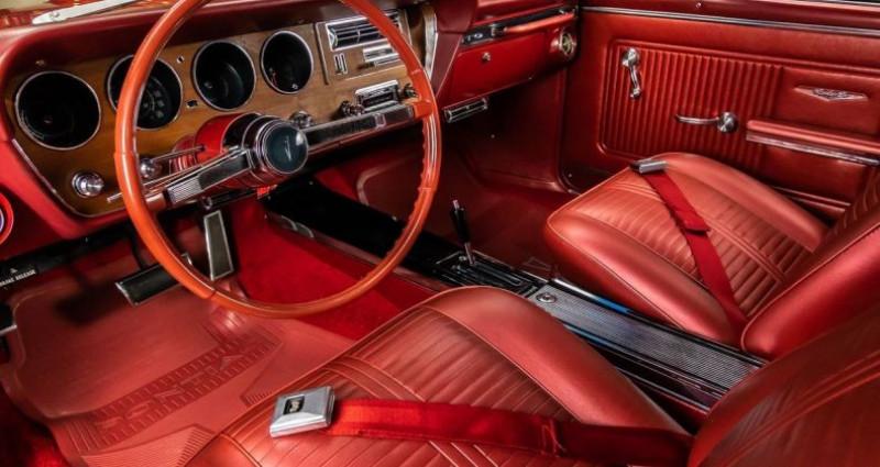 Pontiac GTO 1966 - V8 389Ci - Boite Auto Rouge occasion à Villennes Sur Seine - photo n°3