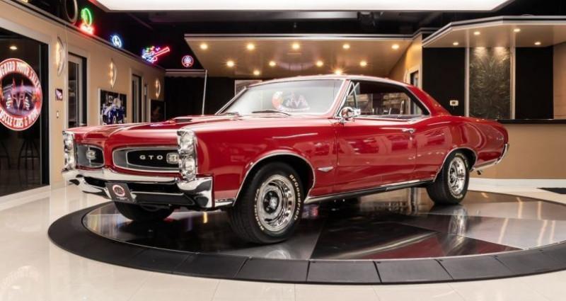 Pontiac GTO 1966 - V8 389Ci - Boite Auto Rouge occasion à Villennes Sur Seine