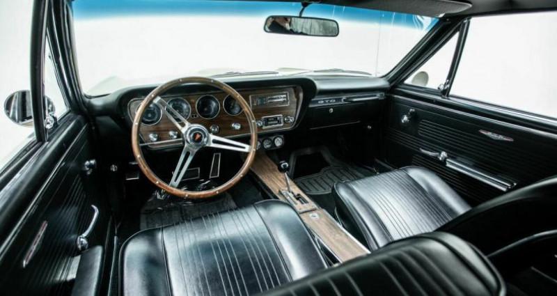 Pontiac GTO 1970 - V8 400Ci - Boite Auto  occasion à Villennes Sur Seine - photo n°4