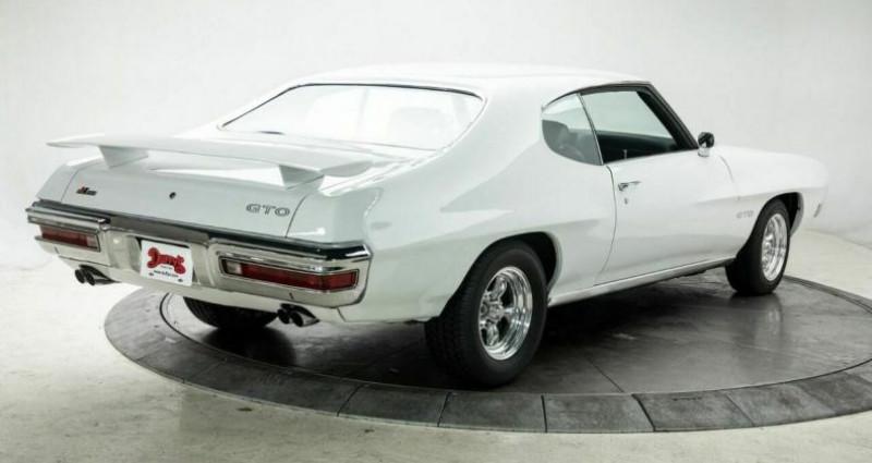 Pontiac GTO 1970 - V8 400Ci - Boite Manuelle Blanc occasion à Villennes Sur Seine - photo n°2