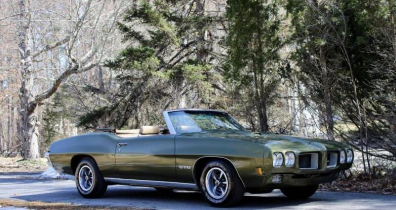 Pontiac GTO 8-cyl. 400cid/350hp 1970 prix tout compris  occasion à PONTAULT COMBAULT