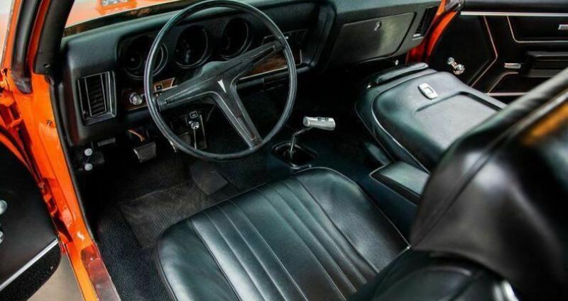 Pontiac GTO Judge 1969 - V8 400Ci Ram Air - Boite Manuelle Orange occasion à Villennes Sur Seine - photo n°3