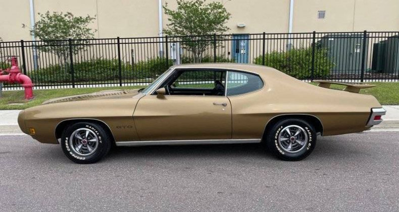 Pontiac GTO V8, gm 400 turbo transmission 1970 prix tout compris hors ho Marron occasion à PONTAULT COMBAULT