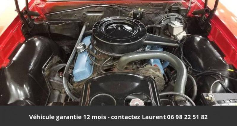 Pontiac LeMans Le mans 326 v8 1967 prix tout compris hors homologation 4500 Rouge occasion à PONTAULT COMBAULT - photo n°7