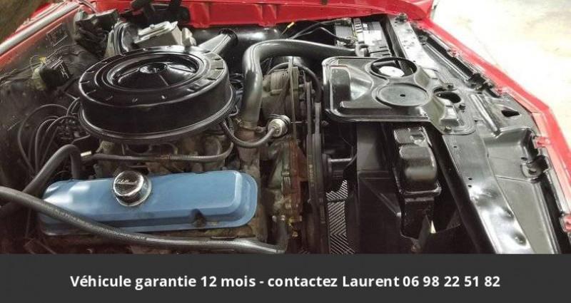 Pontiac LeMans Le mans 326 v8 1967 prix tout compris hors homologation 4500 Rouge occasion à PONTAULT COMBAULT - photo n°3