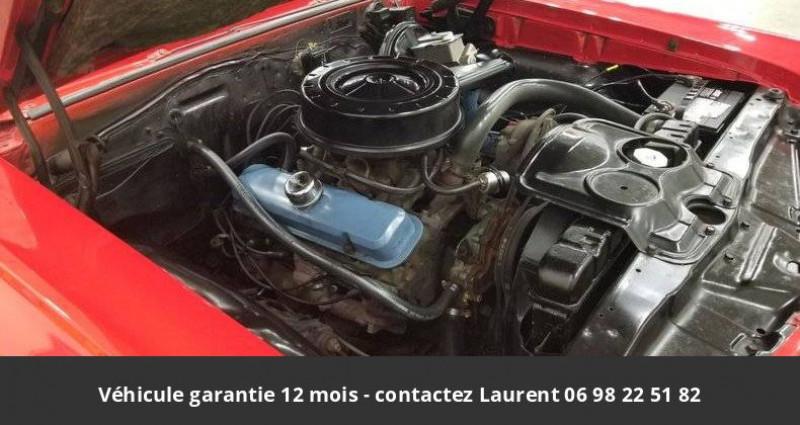 Pontiac LeMans Le mans 326 v8 1967 prix tout compris hors homologation 4500 Rouge occasion à PONTAULT COMBAULT - photo n°4