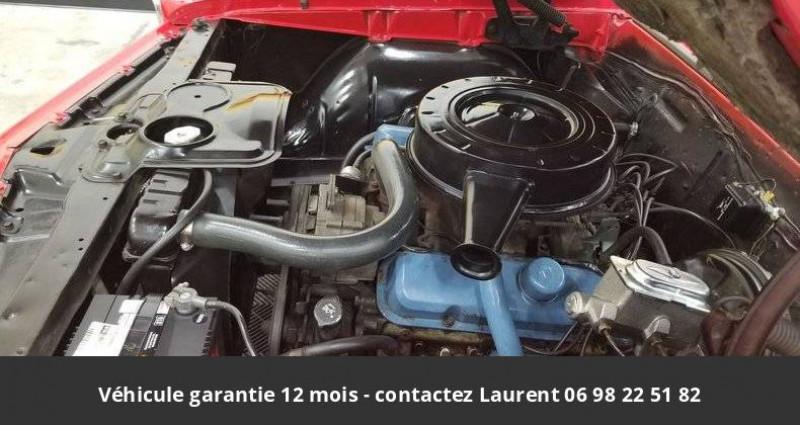 Pontiac LeMans Le mans 326 v8 1967 prix tout compris hors homologation 4500 Rouge occasion à PONTAULT COMBAULT - photo n°5