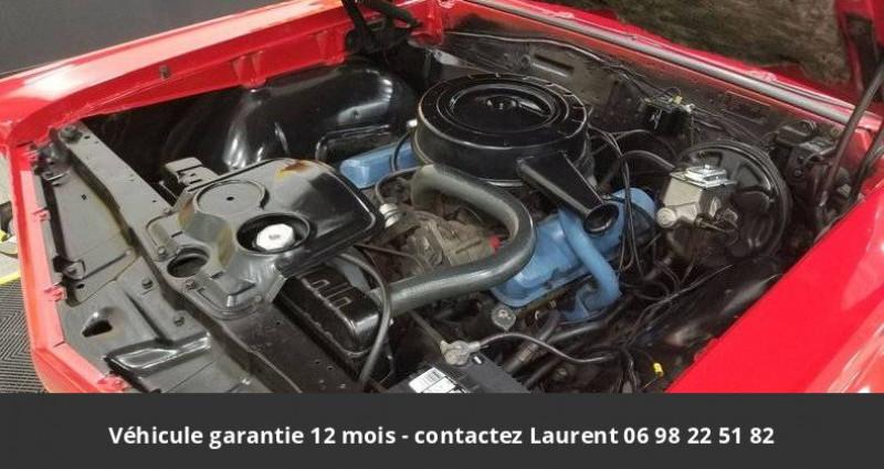 Pontiac LeMans Le mans 326 v8 1967 prix tout compris hors homologation 4500 Rouge occasion à PONTAULT COMBAULT - photo n°6