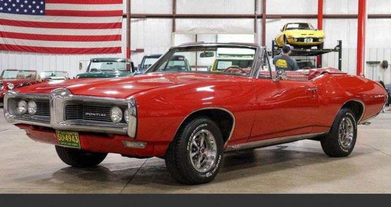 Pontiac LeMans Le mans 350 v8 1968 prix tout compris hors homologation 4500 Rouge occasion à PONTAULT COMBAULT