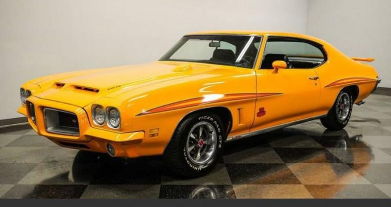 Pontiac LeMans Le mans Gto judge tribute 1972 prix tout compris Orange occasion à PONTAULT COMBAULT