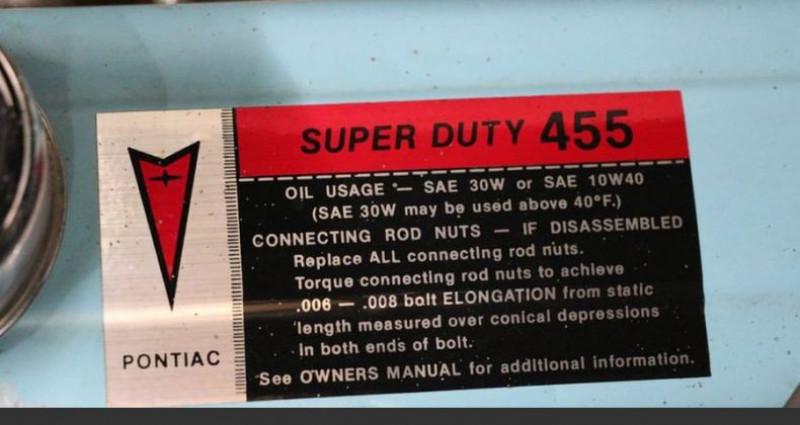 Pontiac Trans Am 455 v8 1980 prix tout compris Noir occasion à PONTAULT COMBAULT - photo n°5