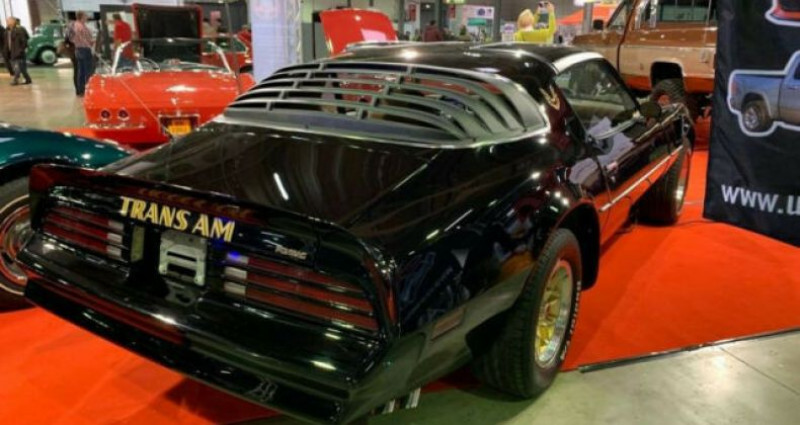 Pontiac Trans Am 6.6 V8 Noir occasion à Reisdorf - photo n°7