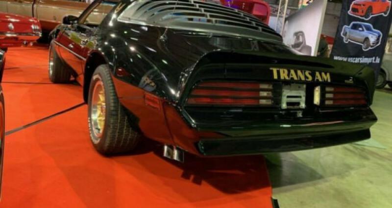 Pontiac Trans Am 6.6 V8 Noir occasion à Reisdorf - photo n°6