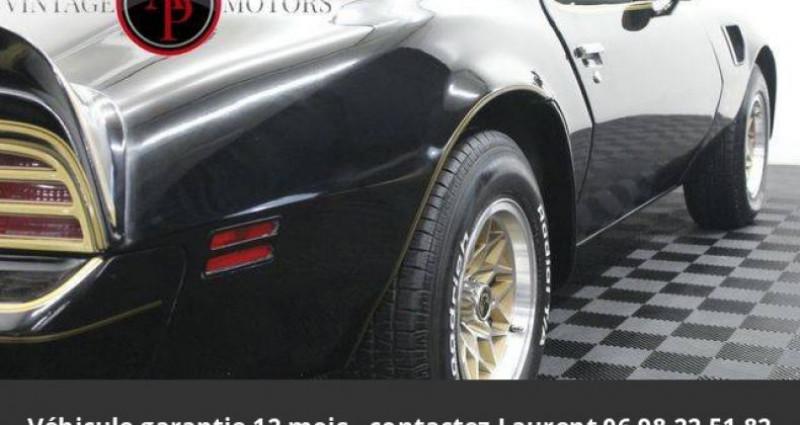 Pontiac Trans Am 6.6l v8 prix tout compris Noir occasion à PONTAULT COMBAULT - photo n°7
