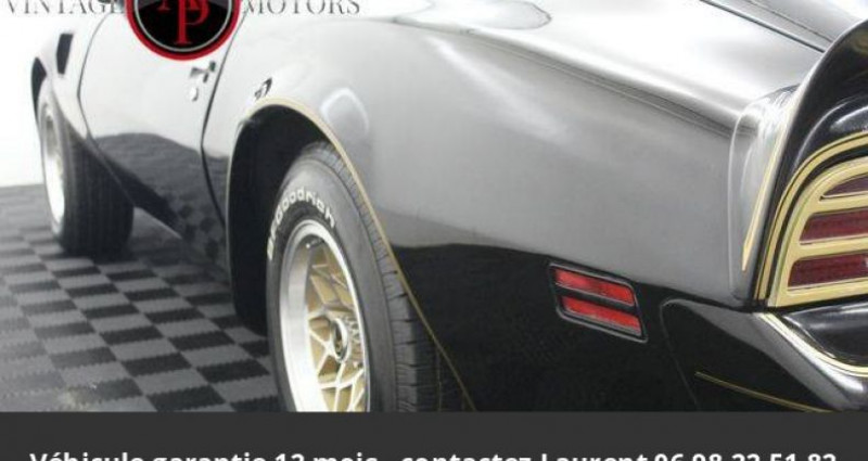 Pontiac Trans Am 6.6l v8 prix tout compris Noir occasion à PONTAULT COMBAULT - photo n°6