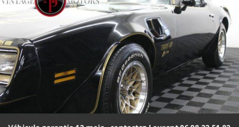 Pontiac Trans Am 6.6l v8 prix tout compris Noir occasion à PONTAULT COMBAULT - photo n°5