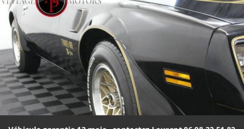 Pontiac Trans Am 6.6l v8 prix tout compris Noir occasion à PONTAULT COMBAULT - photo n°4