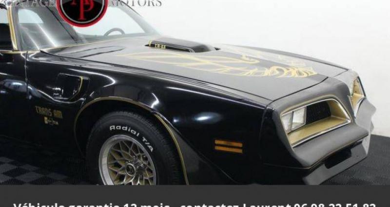 Pontiac Trans Am 6.6l v8 prix tout compris Noir occasion à PONTAULT COMBAULT - photo n°3