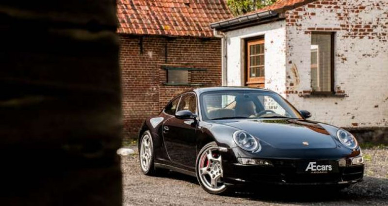 Porsche 356 997 CARRERA 4S MANUAL - BOSE - SPORT CHRONO Noir occasion à IZEGEM - photo n°5