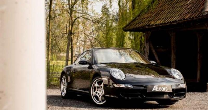 Porsche 356 997 CARRERA 4S MANUAL - BOSE - SPORT CHRONO Noir occasion à IZEGEM - photo n°2