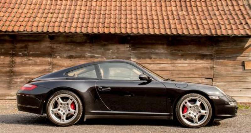 Porsche 356 997 CARRERA 4S MANUAL - BOSE - SPORT CHRONO Noir occasion à IZEGEM - photo n°3