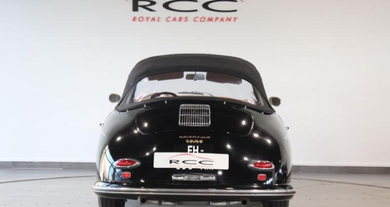 Porsche 356 A Cabriolet 16 100 s Noir occasion à Le Port Marly - photo n°2