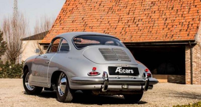 Porsche 356 B T6 COUPE - MANUAL - RED LEATHER SEATS - TOP Gris occasion à IZEGEM - photo n°2