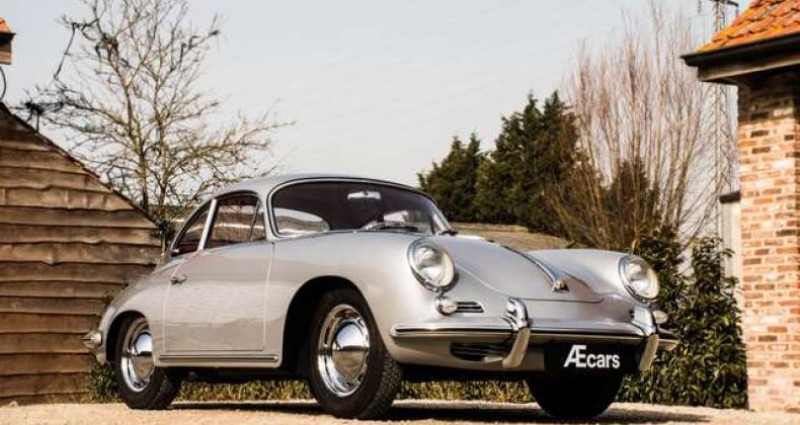 Porsche 356 B T6 COUPE - MANUAL - RED LEATHER SEATS - TOP Gris occasion à IZEGEM - photo n°3